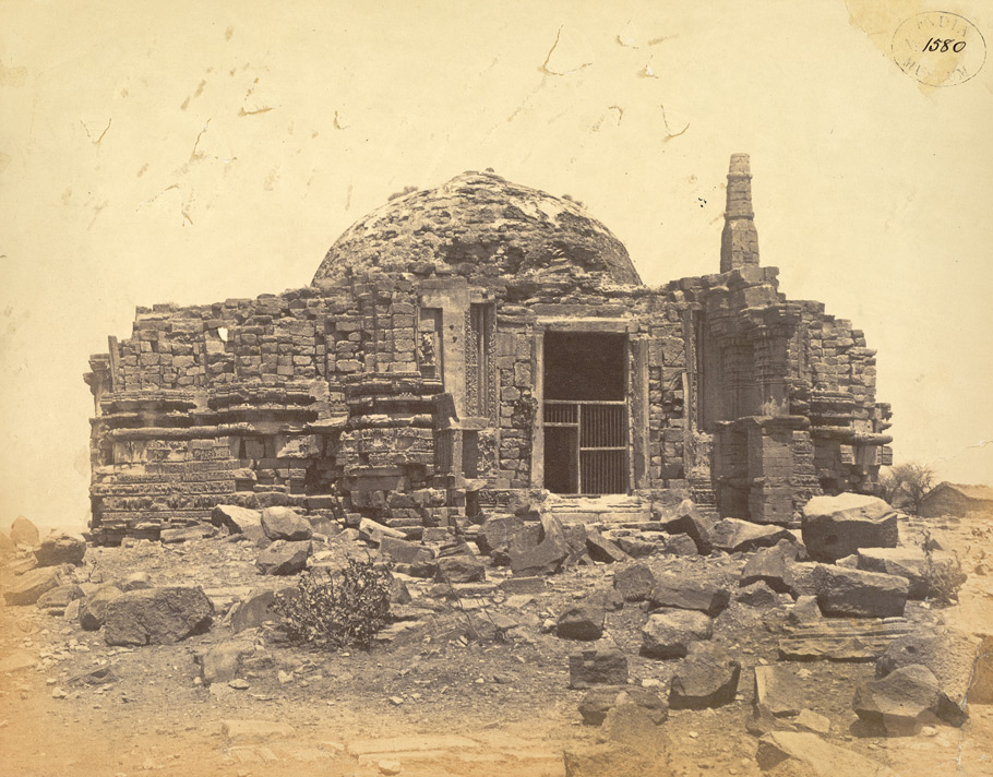 The Somanatha Temple from the east, Somnath (Prabhas Patan)